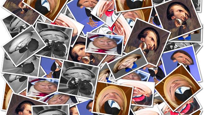 Ismert politikusok torztükörben! Sokan elszúrják a kakukktojást!